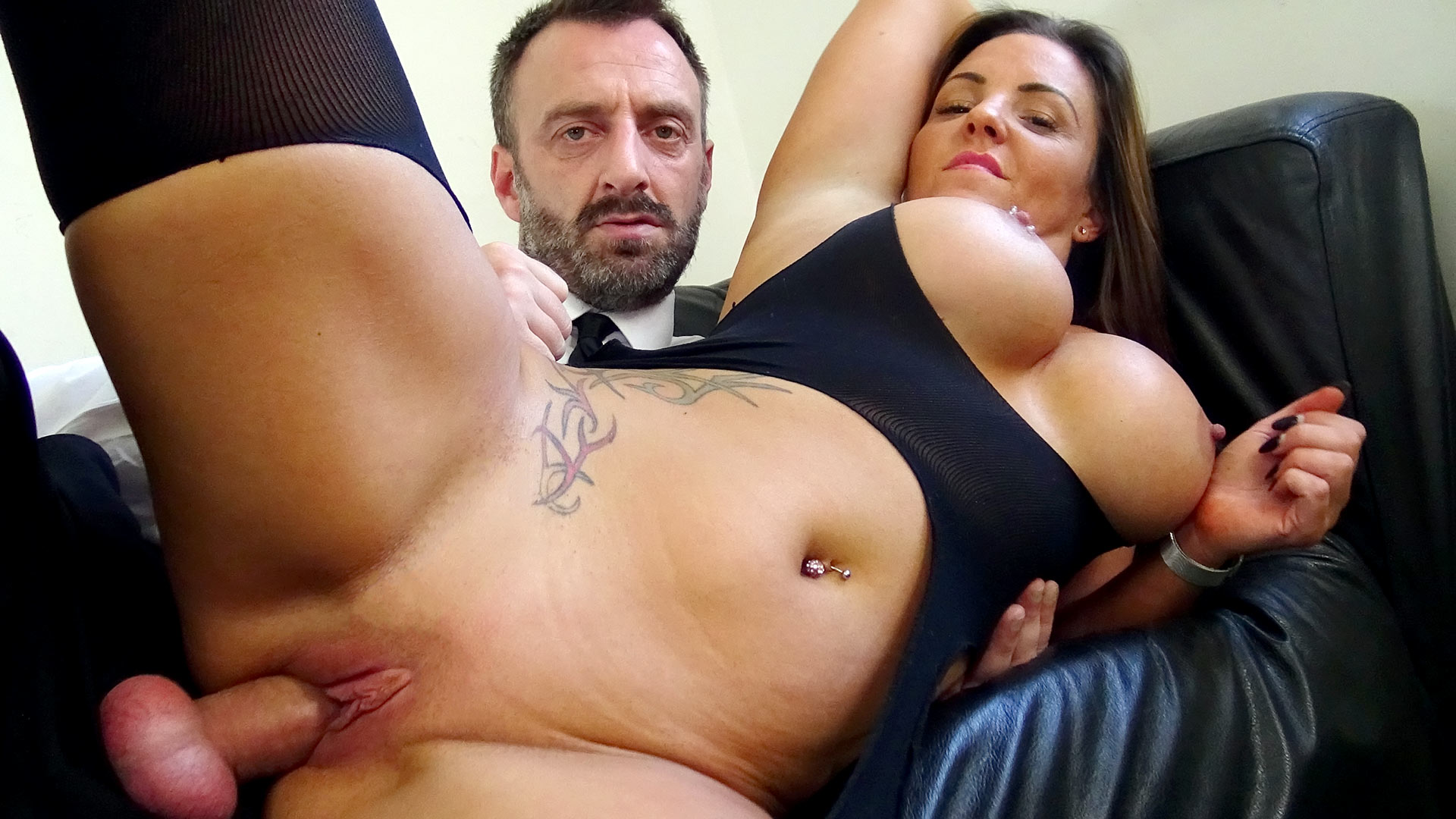 Hot busty milf Sienna gets dominated
